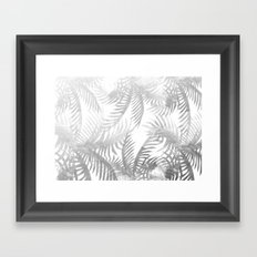 Jungle BW Framed Art Print