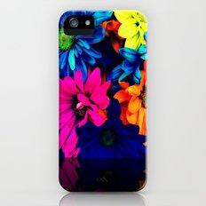 Neon Daisies iPhone (5, 5s) Slim Case