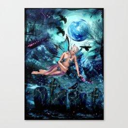BLUE FAE Canvas Print