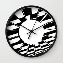 Ring Map 5 Wall Clock