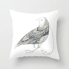 Pigeon of paradise? Throw Pillow