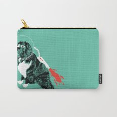 A Flying Dog In Outer Space Carry-All Pouch