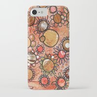 brown iPhone & iPod Cases featuring brown by Kras Arts - Fly Me To The Moon
