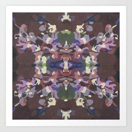 Bouquet VI Art Print