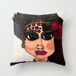 Bi-Polar / Manic Depressive Throw Pillow