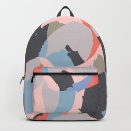 Modern abstract print Backpack