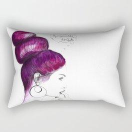 Reasonable doubt Rectangular Pillow
