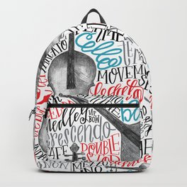String Quartet Backpack