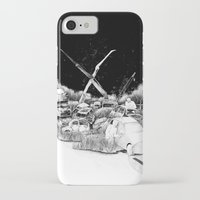 cars iPhone & iPod Cases featuring Cars by Andreas Derebucha