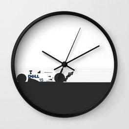 V12 LMR Wall Clock