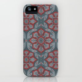 Flowers and laurels iPhone Case