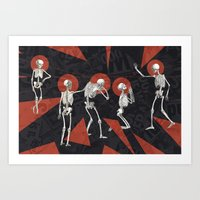 No prayer for the dying Art Print