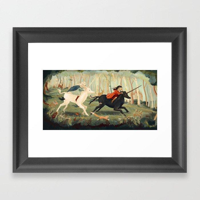 The Unicorn Dream by Emily Winfield Martin Gerahmter Kunstdruck
