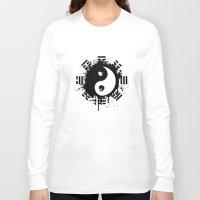 yin yang Long Sleeve T-shirts featuring Yin Yang by Emir Simsek