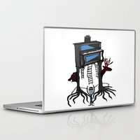 piano Laptop & iPad Skins featuring piano by JBLITTLEMONSTERS