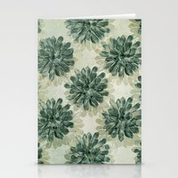 succulents Stationery Cards featuring Succulents by Sandra Arduini