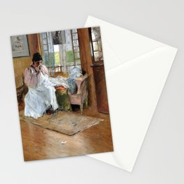 William Merritt Chase For the Little One Stationery Cards