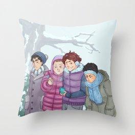 Seijoh Winter Tale Throw Pillow