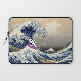 Snoopy meets Hokusai Laptop Sleeve