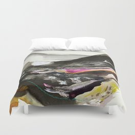 Day 44: The exchange between a tired body and a lively mind. No peace can be held in the soul until Duvet Cover