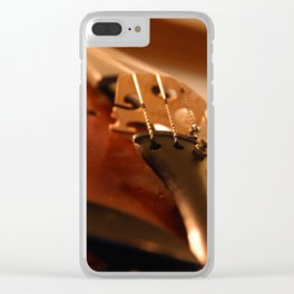 High Strung Clear iPhone Case