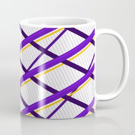 Deco Stripes Purple Coffee Mug
