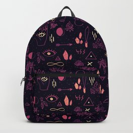 Witchcraft Pattern - Sunset Backpack