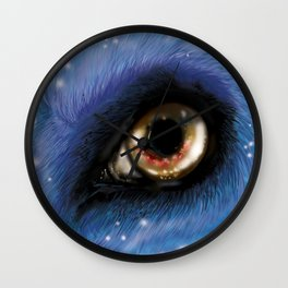 The Eye of the Wolf Wall Clock
