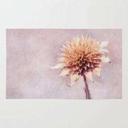 Dead Winter Flower Rug