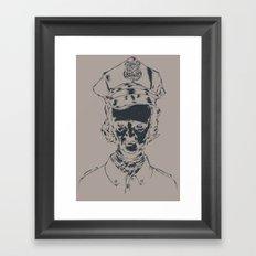 It's the POElice! Framed Art Print