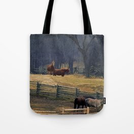 Wilderness Horse Ranch Tote Bag