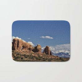 Between Two Worlds - Arches National Park Bath Mat