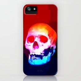 Skull02 iPhone Case