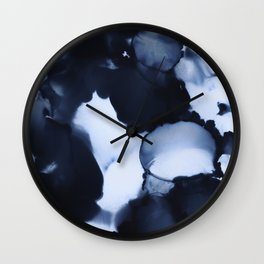 BLUE INK 22 Wall Clock