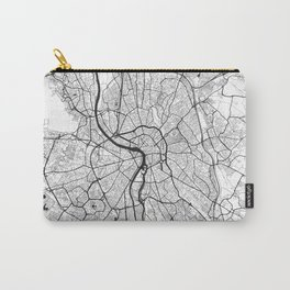 Toulouse Map Gray Carry-All Pouch