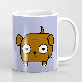 Pitbull Loaf - Red Brown Pit Bull with Floppy Ears Coffee Mug