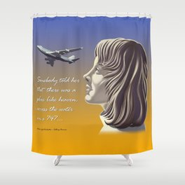 Electric Light Orchestra - Calling America Shower Curtain