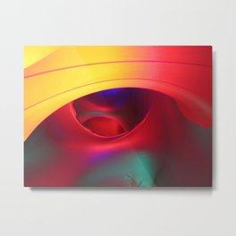 Colourful Cosmos Metal Print