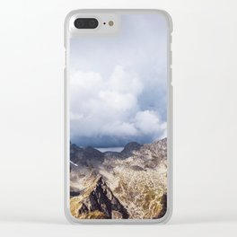 Storm is coming Clear iPhone Case