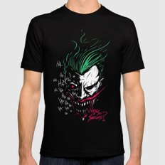 Joker Mens Fitted Tee X-LARGE Black