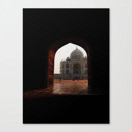 Taj Mahal door - 190 Canvas Print