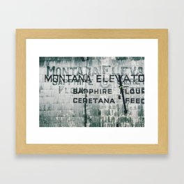Ghosts of Montana Framed Art Print