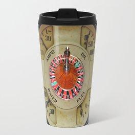 Custom Car Instrument Design with Lucky Roulette Wheel Travel Mug