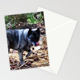 A very merry Blep to you Stationery Cards