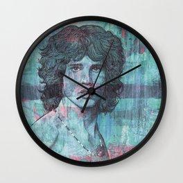 J. Morrison - Light My Fire Wall Clock