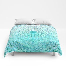 Ice Flower Mandala Comforters