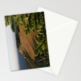 Sunrise over Medicine Bow Stationery Cards