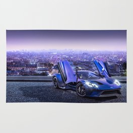 Ford GT Rug