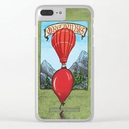 Dream Big Clear iPhone Case