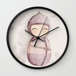Poupée kakoon1 Wall Clock